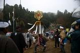 西金砂神社小祭礼09-3-22(6)町田火消し行列繰り込み