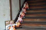 大子百段階段で雛祭り