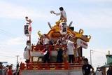 日立港秋の味覚祭り10-10-02(5)浜連の山車