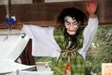 大前神社大御神楽わかひこ天不忠神・鬼女・武甕槌命の舞
