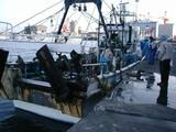 久慈漁港底引き船