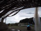 西塩子の回り舞台13-10-16台風26号による被害\
