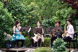 西山の里花菖蒲まつり09-06-14(1)サクソフォン演奏
