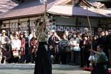 水戸八幡宮はねつき神事09-1-12(5)破魔弓神事