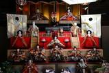 結城も雛祭り08-02-24(6)磯田邸雛人形