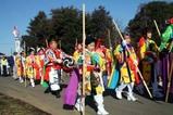 鹿島神宮棒揃え回り祭頭(4)行列
