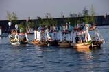 大津の盆船流し