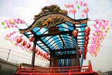 西金砂神社小祭礼09-3-17和田の山車