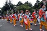 湊八朔祭り09-08-09手古舞(4)行列
