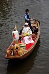 潮来あやめ祭り嫁入り舟