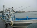 久慈漁港061020流し縄漁