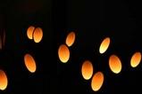 竜神峡灯ろうまつり竹灯り