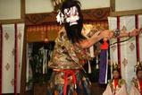 岡のじゃかもこじゃん宵祭り09-10-02(7)赤鬼地法B