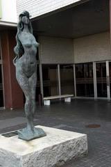彫刻木内克エーゲ海に捧ぐ日立市博物館