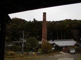 煉瓦煙突銀杏