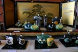 笠間陶の雛展