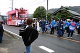 西金砂神社小祭礼09-3-22(2)棚谷国安和久の山車笠抜き