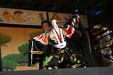 西塩子回り舞台061029(24)人形浄瑠璃「二人三番叟