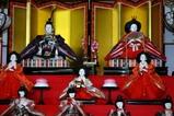 江戸崎の雛まつり09-02-22(1)笑遊館ひな段