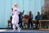 なかひまわりフェスティバル09-10-31(5)門部ひょっとこ踊り獅子舞