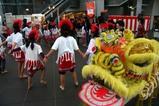 ひたち国際文化まつり舞獅子