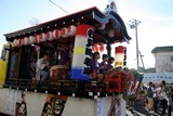 大甕神社例大祭10-7-19(9)山車の競演