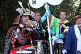 鹿島神宮棒揃え回り祭頭(18)楽士B