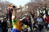 日立さくらまつり09-04-05(71)バリ舞踊スカルクンギ歓迎の踊り