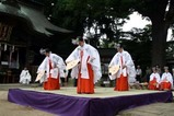 若宮八幡宮夏越の大祓式09-06-28(4)浦安の舞