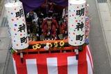 大甕神社例大祭10-7-19(3)明神町辻祈祷