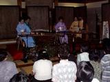 十六夜のお琴と尺八の夕べ大山寺1