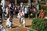 潮音寺火渡り(4)奉弓の儀