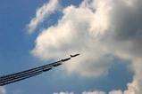 百里基地航空祭ブルーインパルス四機2