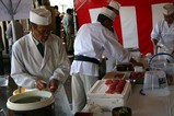 市場祭りまぐろ寿司