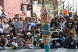 ひたち国際大道芸中国雑伎団フラフープ