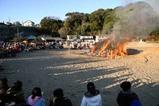 浜の焚きあげ祭09-1-15会瀬