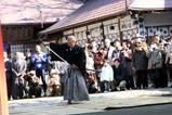 水戸八幡宮はねつき神事09-1-12(4)居合清払いの儀