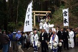 西金砂神社小祭礼09-3-22(4)A逆川到着