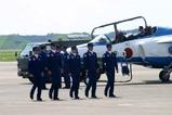 百里基地航空祭ブルーインパルス整備