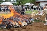 潮音寺薬師堂落慶09-06-06(13)火渡り火渡師
