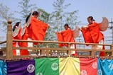 笠間稲荷神社御田植祭09-05-10(12)迦陵頻