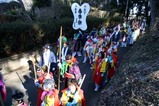 鹿島神宮棒揃え回り祭頭行列