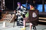 西塩子の回り舞台08-11-02(2)練習菅原伝授手習鑑
