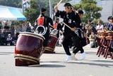 日立港秋の味覚祭り10-10-02(4A)黒潮太鼓