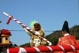 西金砂神社小祭礼09-3-20(6)中染祭場田楽舞