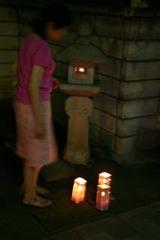 真壁夜まつり石燈籠