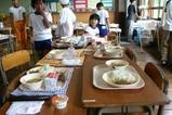 西金小学校04-07-16aプール給食