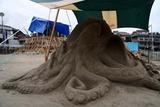 ひたちサンドアートフェスティバル10-07-12製作中