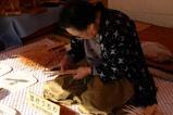 伝統工芸笠間匠の祭り雪村団扇