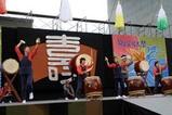 ひたち秋祭り郷土芸能大祭09-10-11(1)常陸太鼓の会